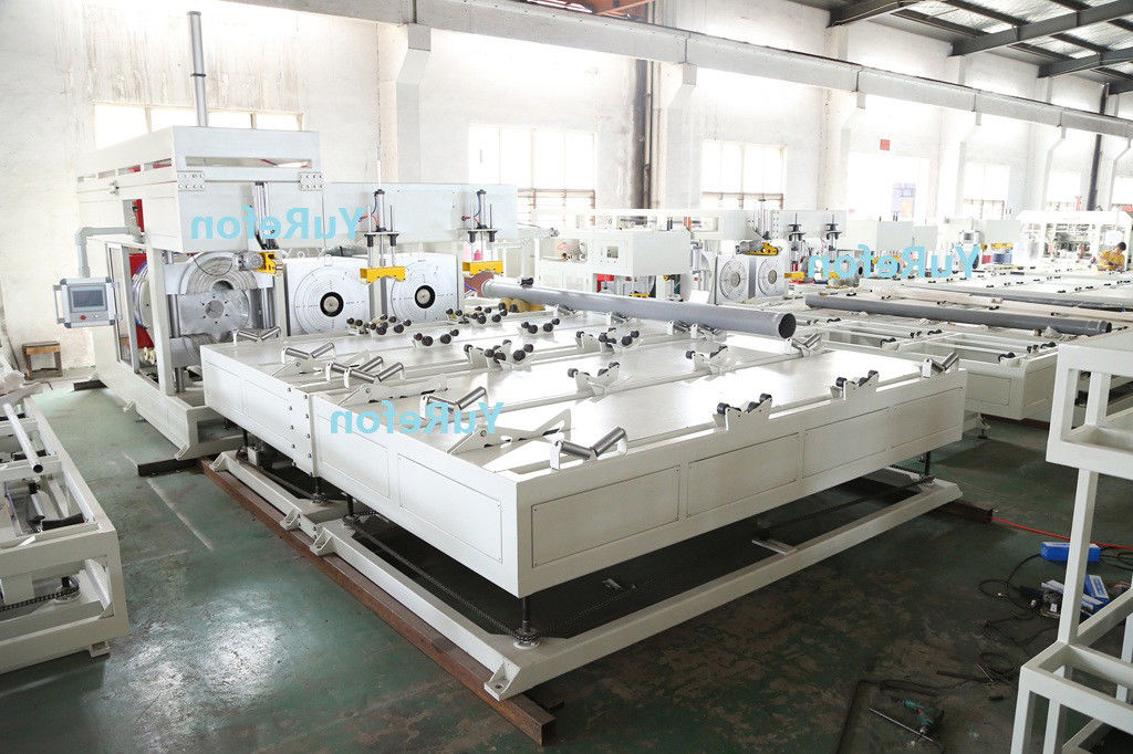 Automatic Plastic PVC Pipe Belling Machine PLC Control With Single Heating Station