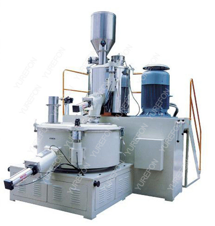 55 KW AC Motor PVC Plastic Mixture Machine 500 Kg / H With  Auto Feeding Dosing