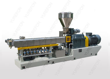 Powerfull Parallel Double Screw Extruder Machine Untuk PET Sheet Board Extrusion