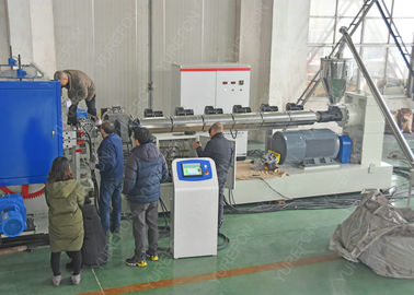 Cina Pembentukan vakum Dimple HDPE Membrane Sheet Extrusion Equipment Frequency Conversion pabrik
