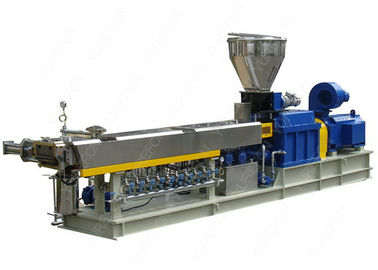 Output Tinggi Paralel Twin Screw Plastik Extruder Untuk Plastik Compounding Dan Granulating